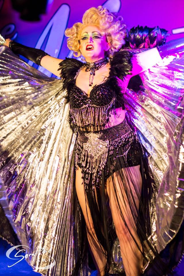 Feathers and claws, Image by Art By Seraphic taken at the Spare Rib of me performing my Enchantress act