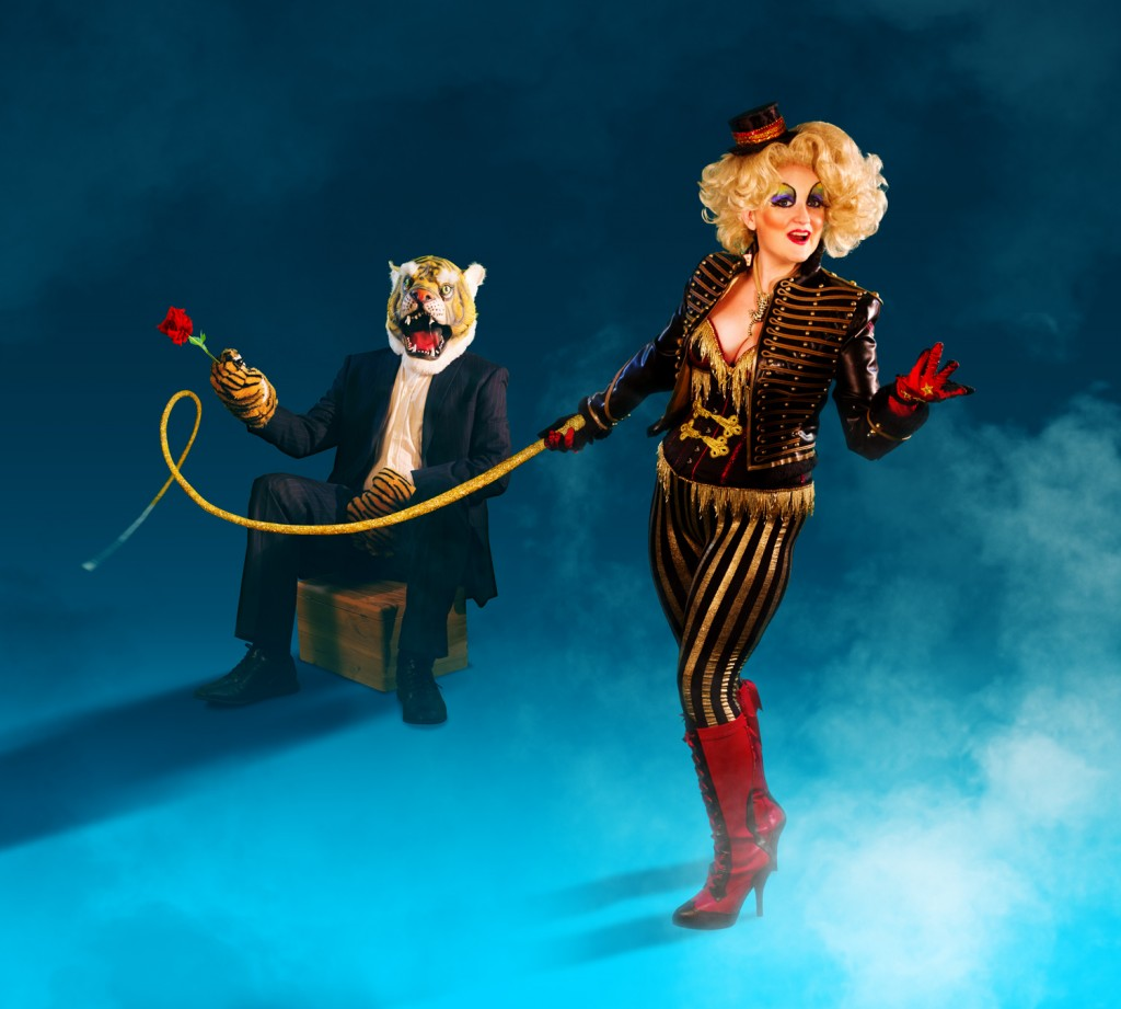 Diva Hollywood in Tiger Tamer image by Steve Abgstrom