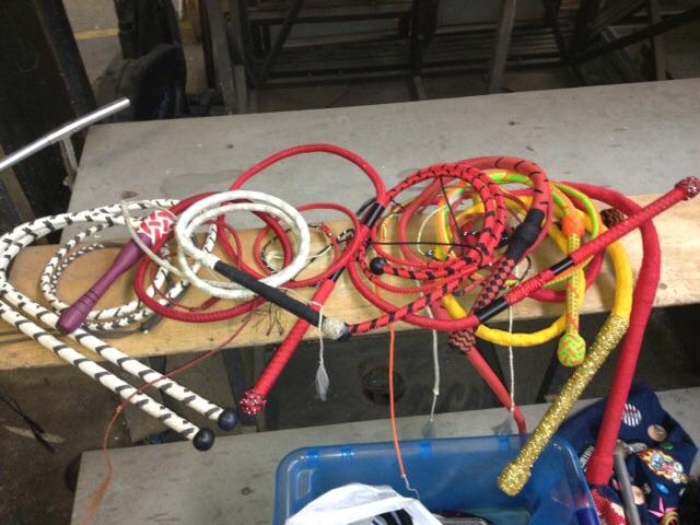 Multiple whips